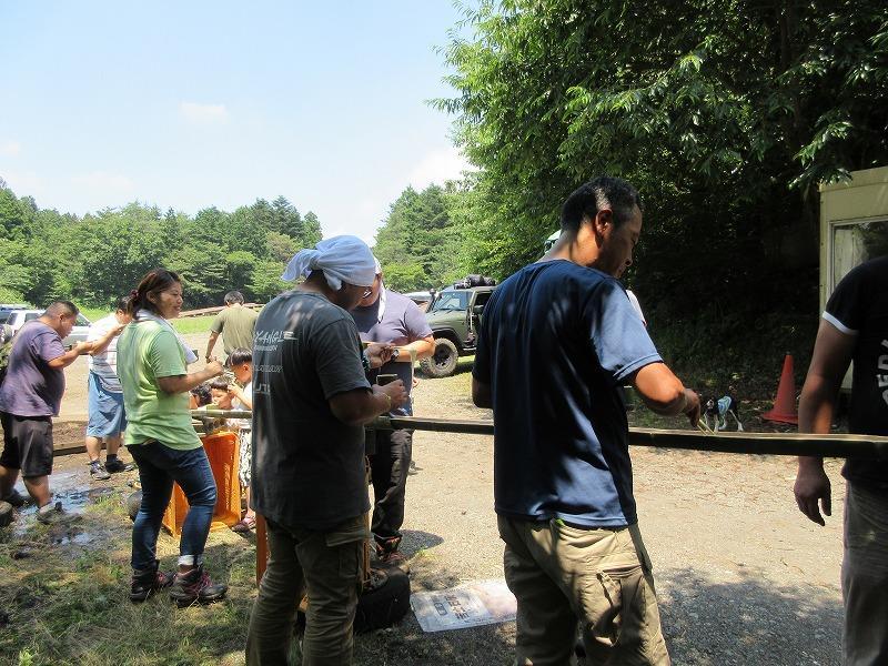 7月14~16キャンプ