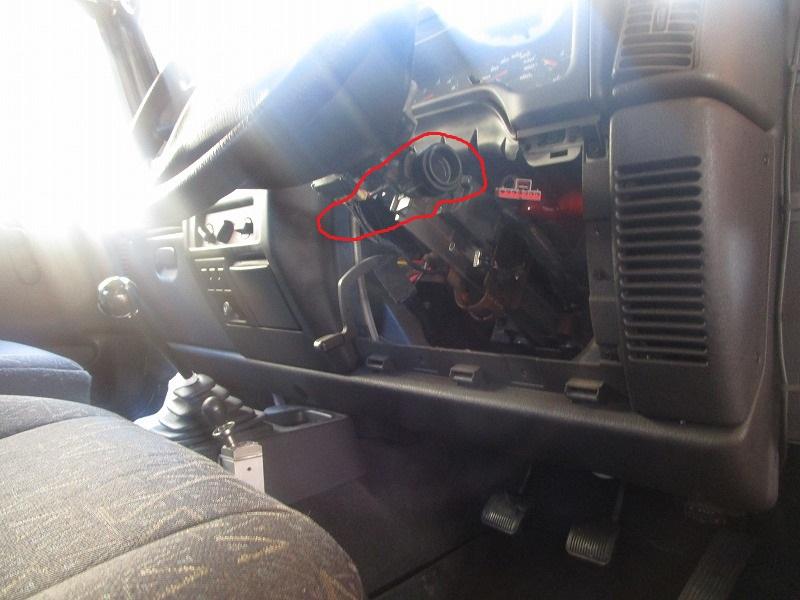 TJ40キー修理